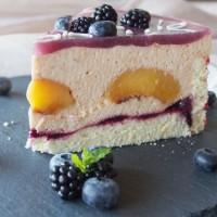 Brombeer-Aprikosen-Torte