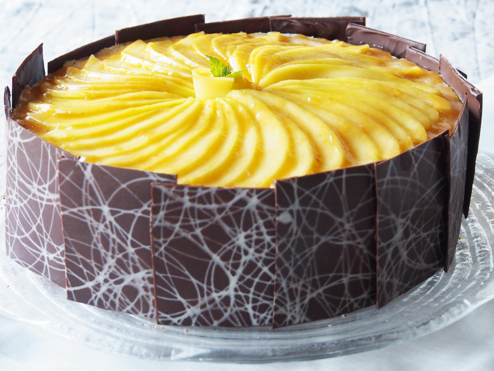 Mango-Mohn-Torte