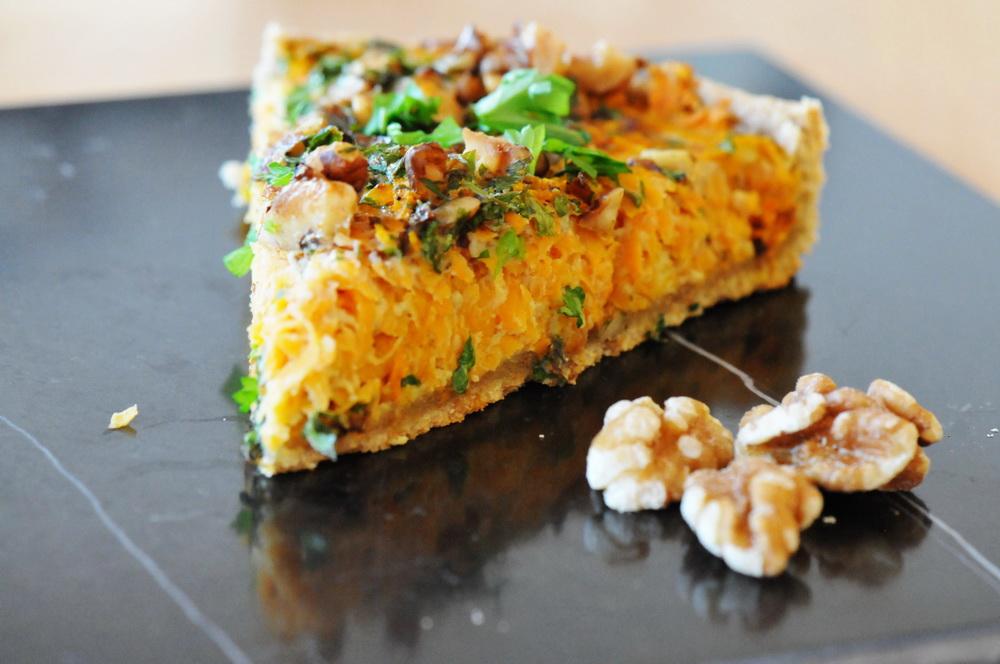 Suesskartoffel-Tarte