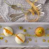 Pistazien-Orangen-Dessert
