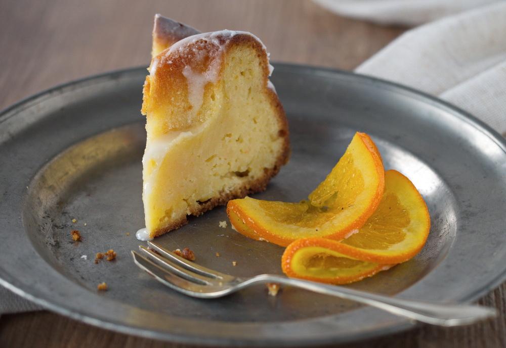 Zitruskuchen mit Buttermilch