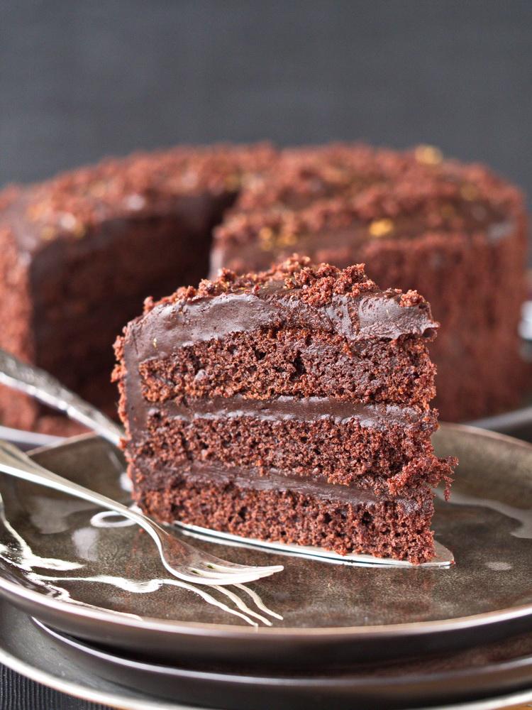 Schokoladen-Espresso-Torte