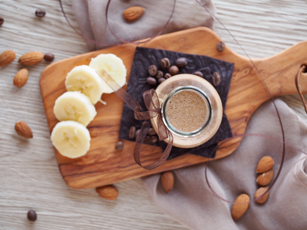 Espresso-Mandel-Smoothie