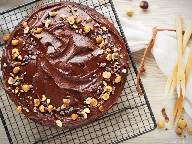 Brownies mit Schokoladen-Süßkartoffel-Frosting