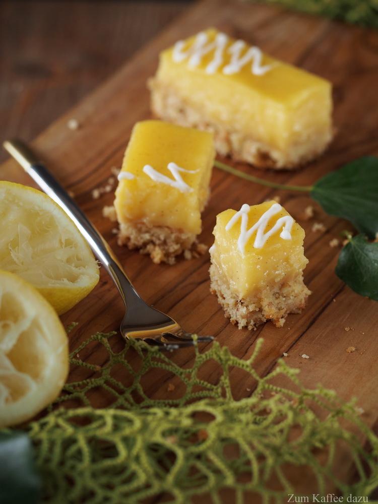 Zitronencreme-Schnittchen