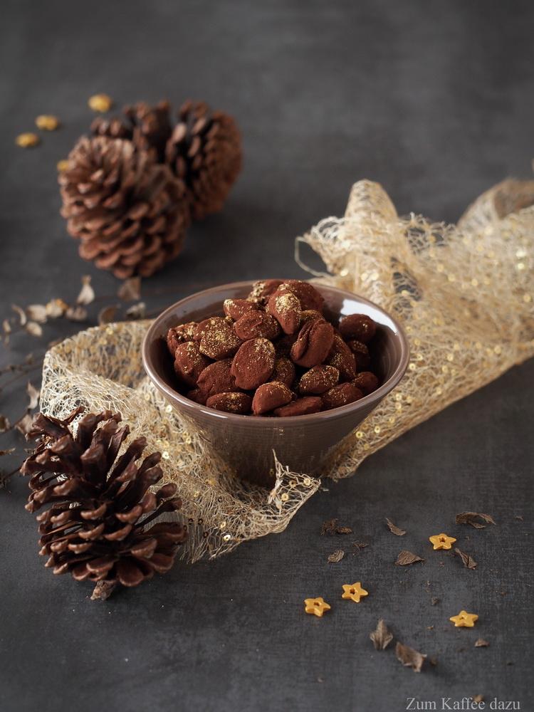 Gebrannte Schokoladenmandeln