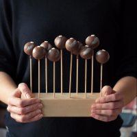 Mohn-Cake Pops mit Marzipan