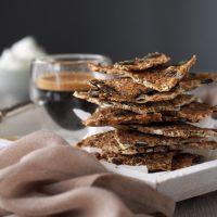 Kernige Brot-Cracker