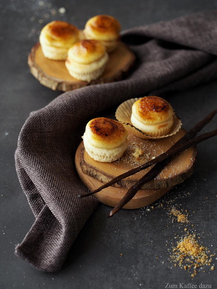Crème Brûlee-Cupcakes