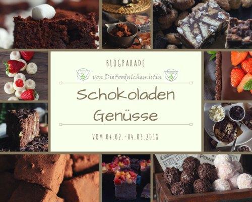 Schokoladengenüsse Blogparade
