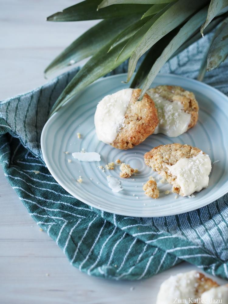 Pina Colada-Cookies