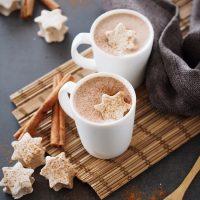 Heiße Schokolade mit Zimt-Marshmallow