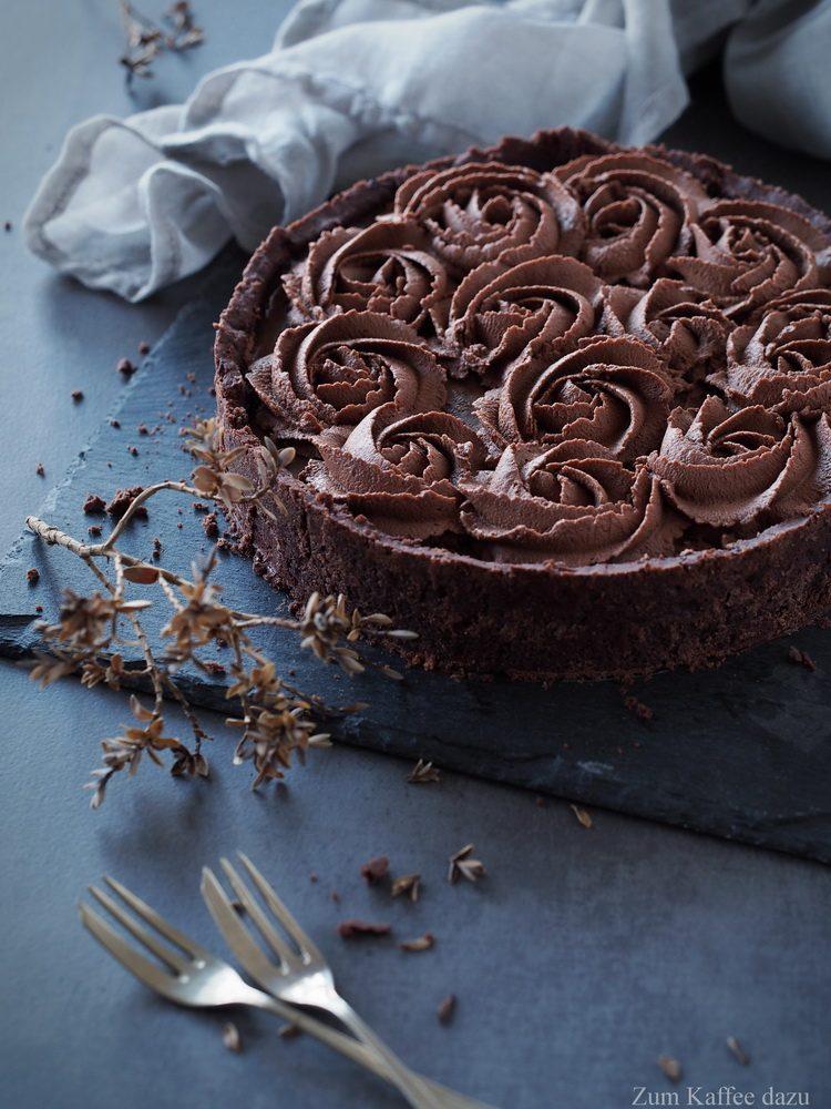 Schokoladen-Nougat-Tarte