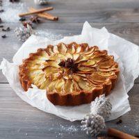 Apfel-Tarte mit Lebkuchengewürz
