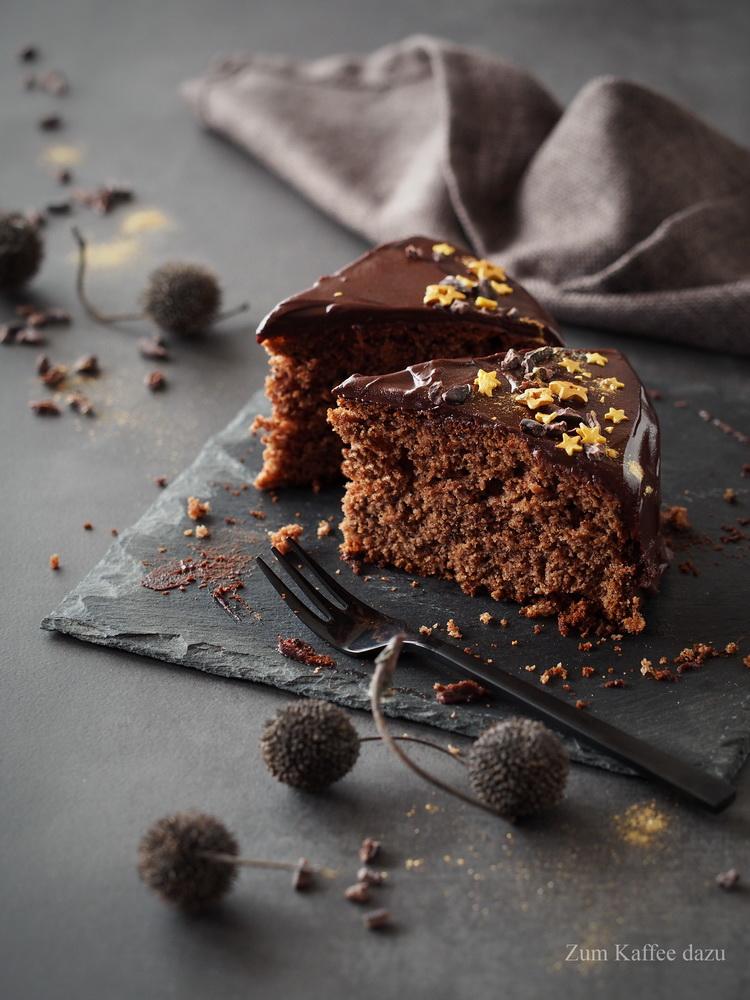 Schokoladiger Maronenkuchen