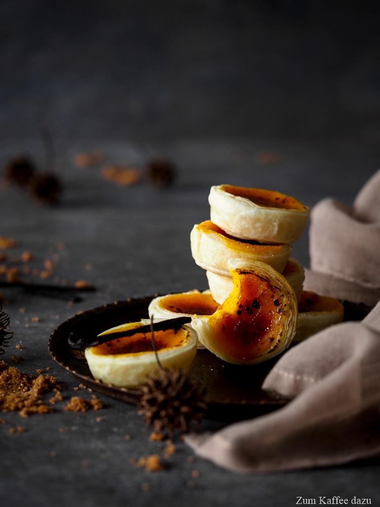 Karamellisierte Kürbis-Tartelettes