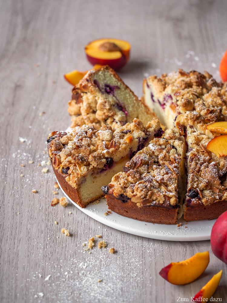 Obstkuchen mit Streusel